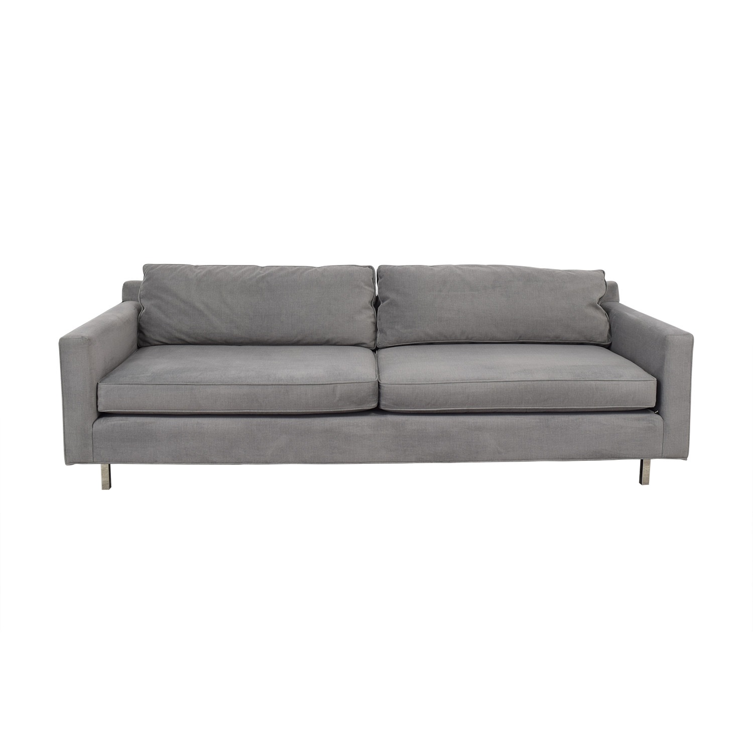 Mitchell Gold + Bob Williams Mitchell Gold + Bob Williams Hunter Grey Two-Cushion Sofa nyc