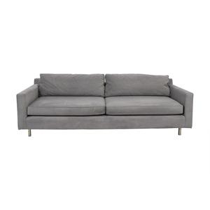 Mitchell Gold + Bob Williams Mitchell Gold + Bob Williams Hunter Grey Two-Cushion Sofa nj