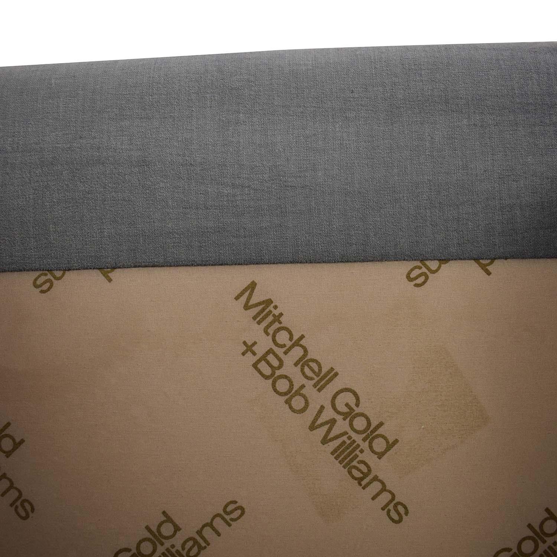 Mitchell Gold + Bob Williams Hunter Grey Two-Cushion Sofa / Classic Sofas