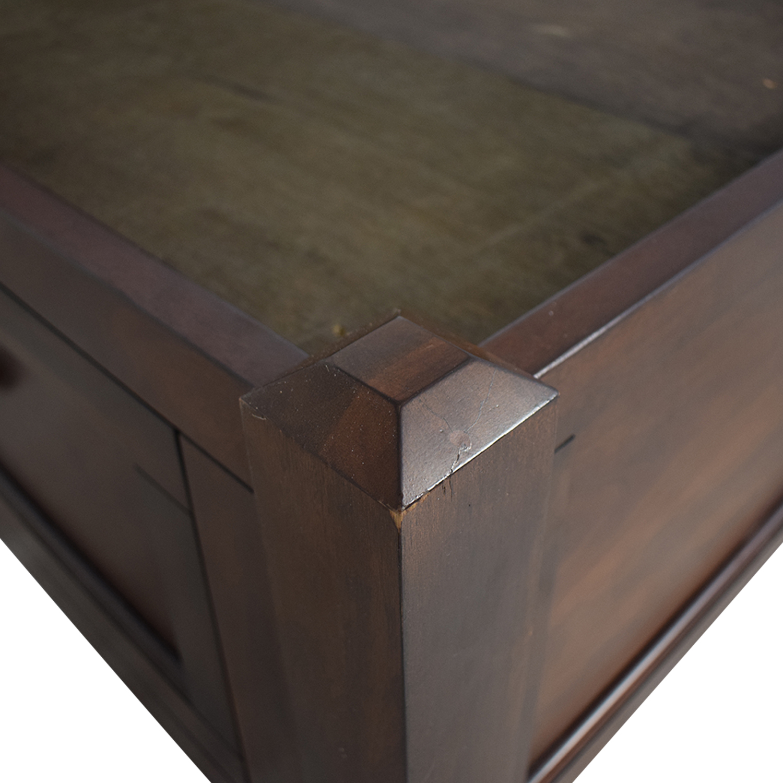 Raymour & Flanigan Raymour & Flanigan Westlake Platform Storage Bed dimensions