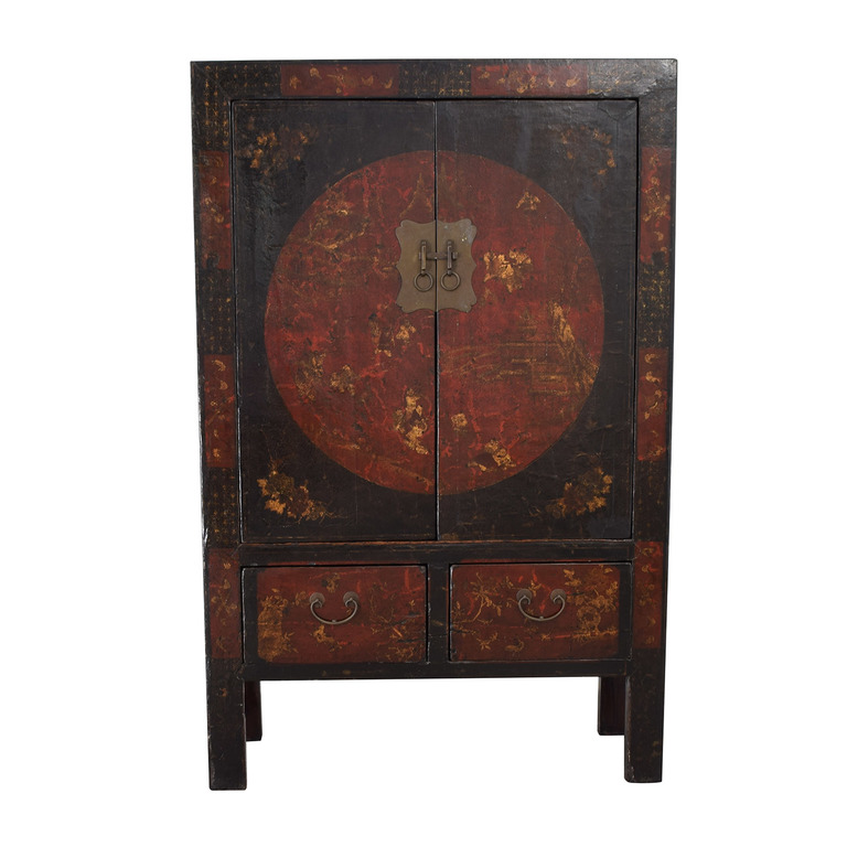 Vintage Chinese Armoire nyc