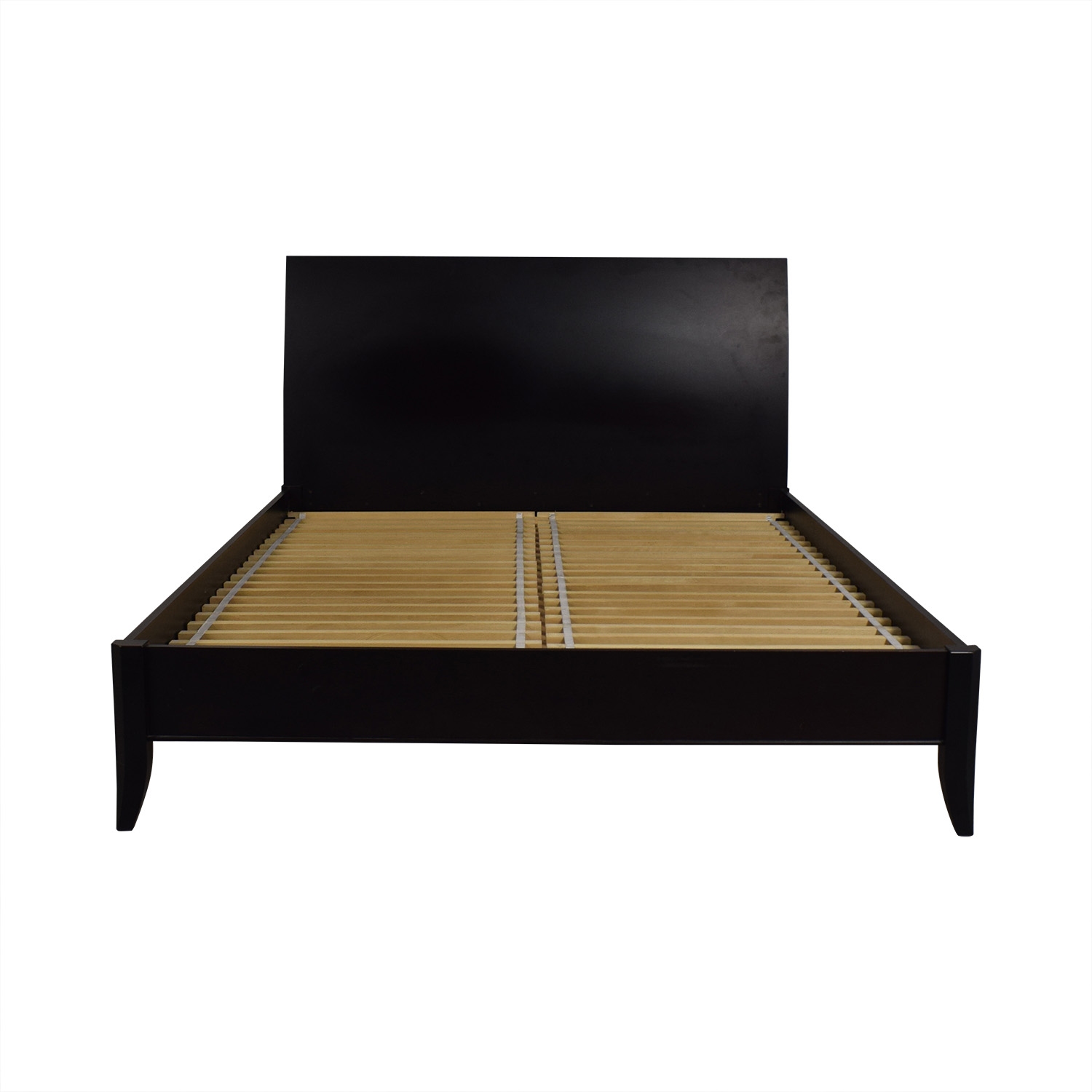 buy Crate & Barrel Platform Queen Bed Frame Crate & Barrel