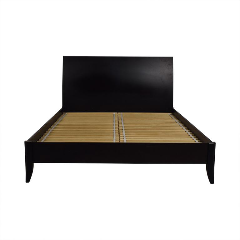 Crate & Barrel Crate & Barrel Platform Queen Bed Frame second hand