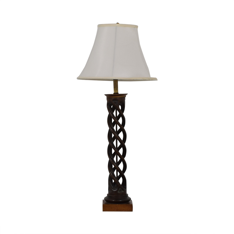 Twisting Table Lamp