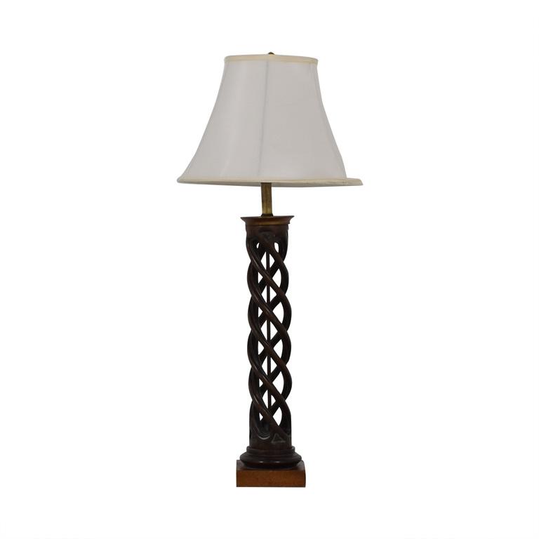 Twisting Table Lamp on sale