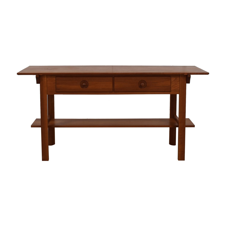 shop Scott Jordon Wood Two-Drawer Utility Table Scott Jordon Utility Tables