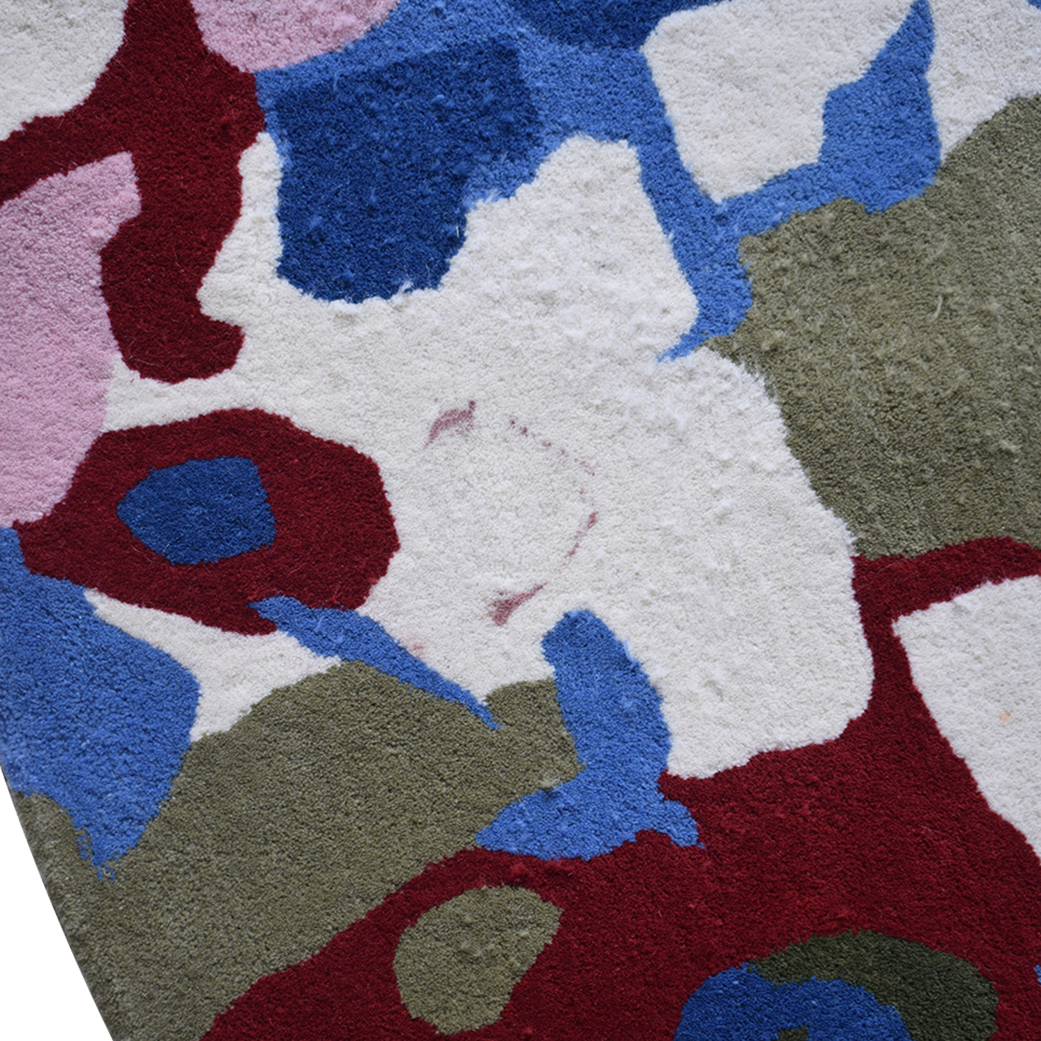 Obeetee Obeetee Round Multi-Colored Hand Tufted Rug discount
