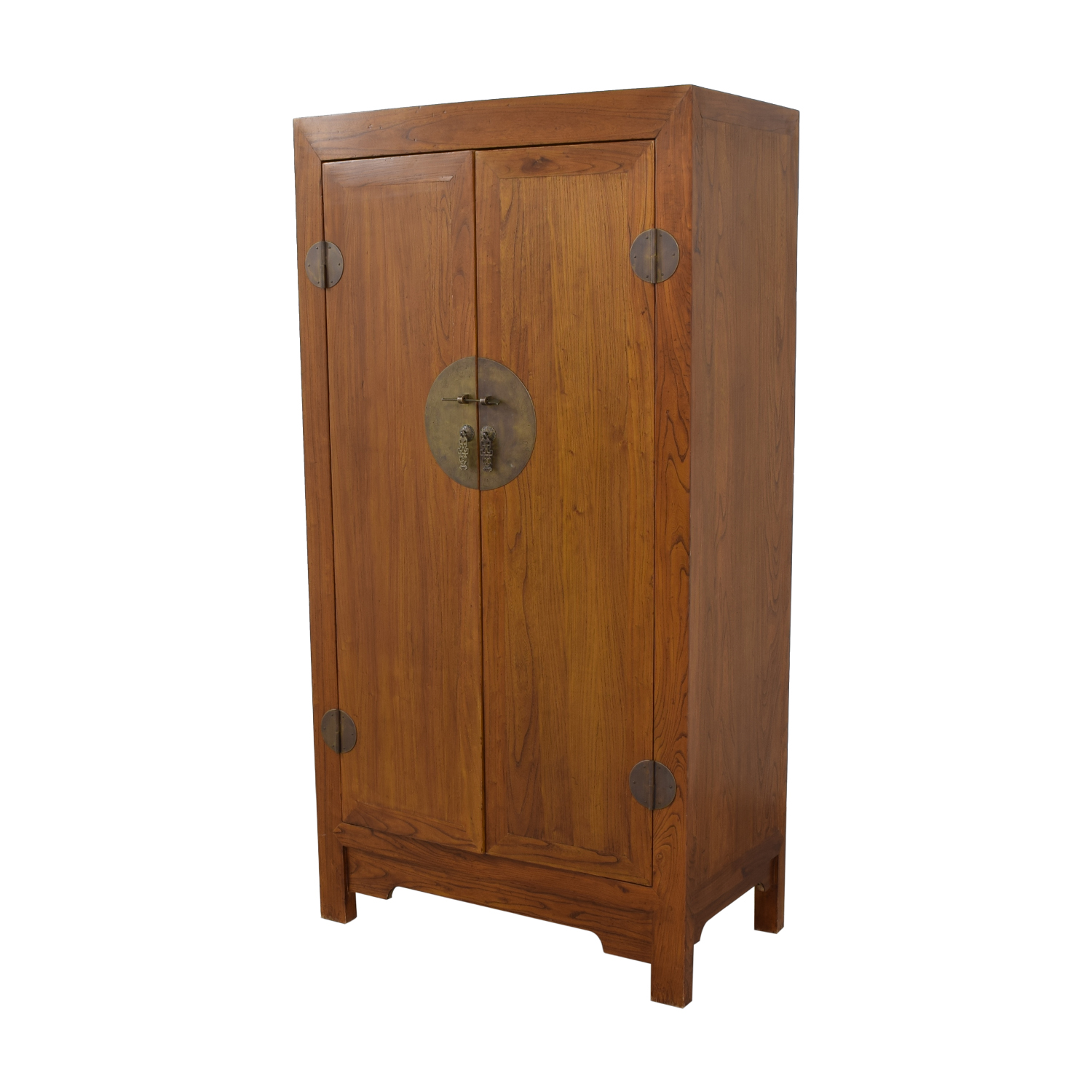shop Two-Drawer Chinese Clothing or Media Armoire  Wardrobes & Armoires