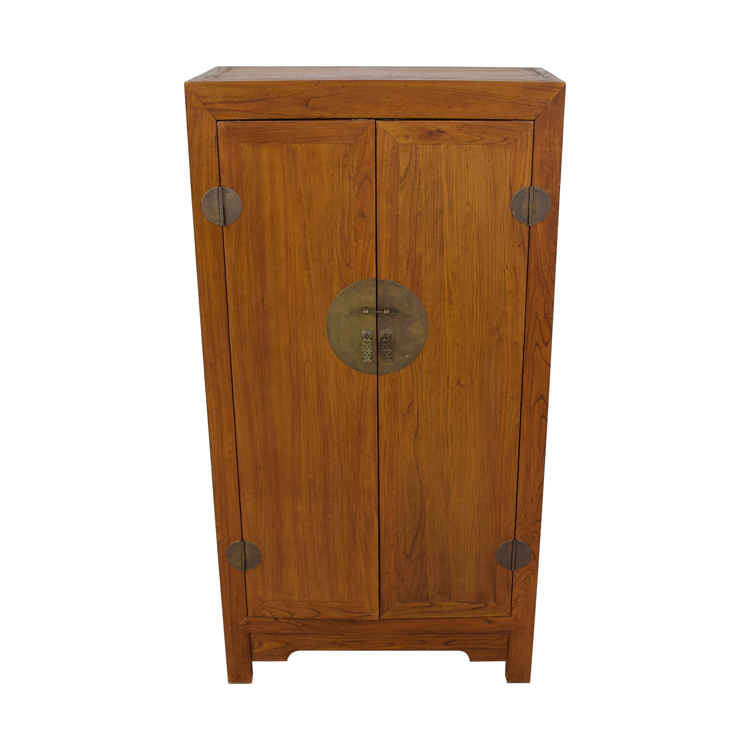 Two-Drawer Chinese Clothing or Media Armoire coupon