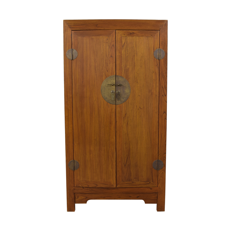 buy Two-Drawer Chinese Clothing or Media Armoire  Storage