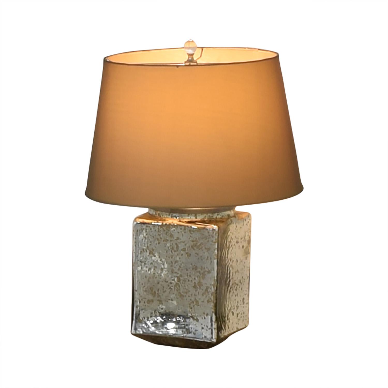 Reflective Rectangular Mirror Table Lamp on sale