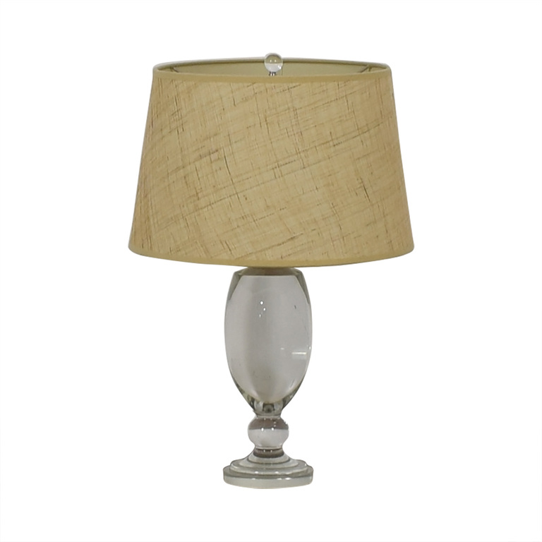 buy Table Lamp with Beige Lampshade
