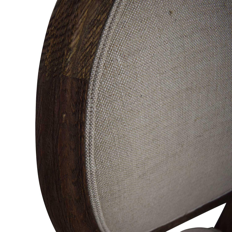 buy Restoration Hardware Vintage French Grey Upholstered Chairs Restoration Hardware Dining Chairs