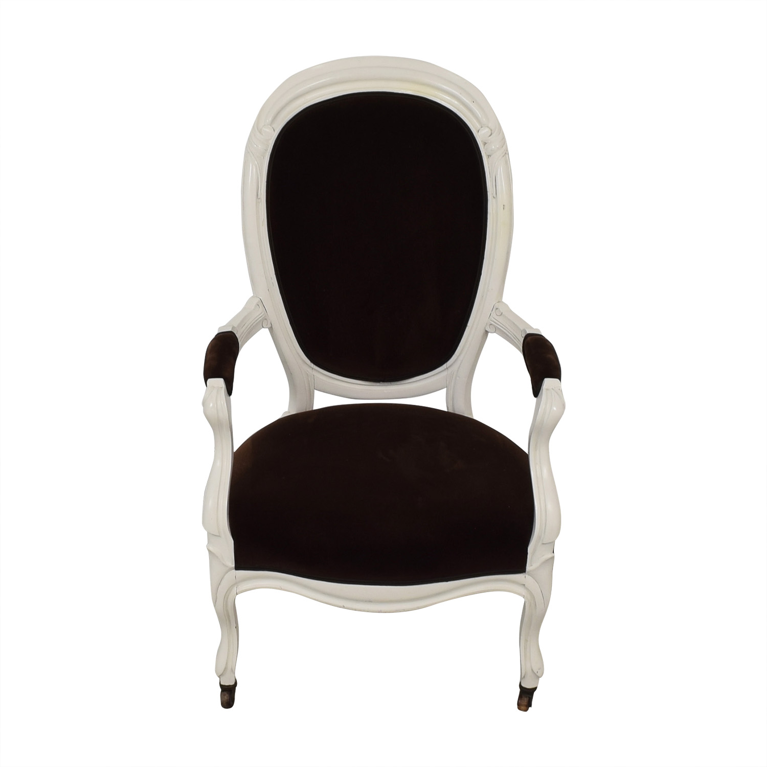 French Velvet Chair Chairs