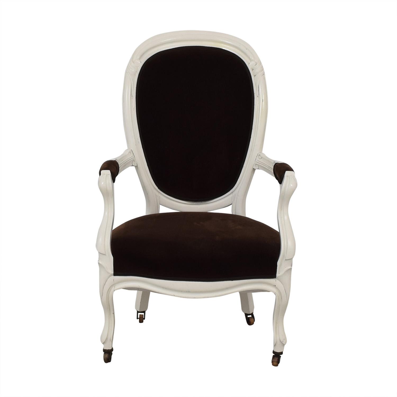 French Velvet Chair dimensions