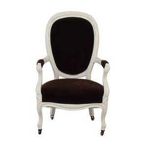 French Velvet Chair for sale