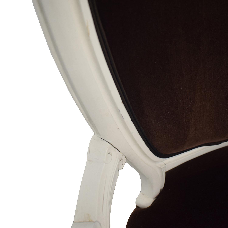 French Velvet Chair price