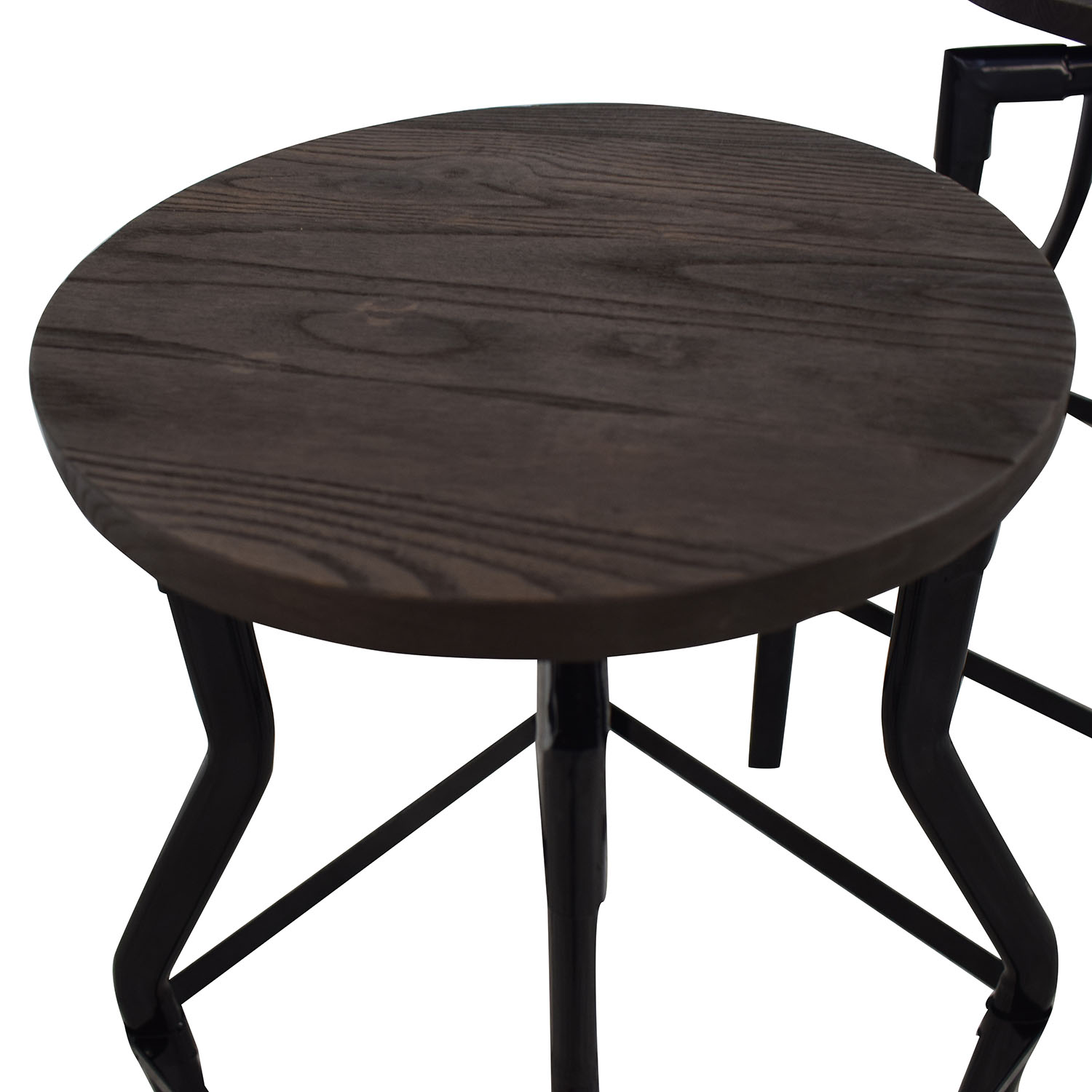 buy Industrial Wood Stools