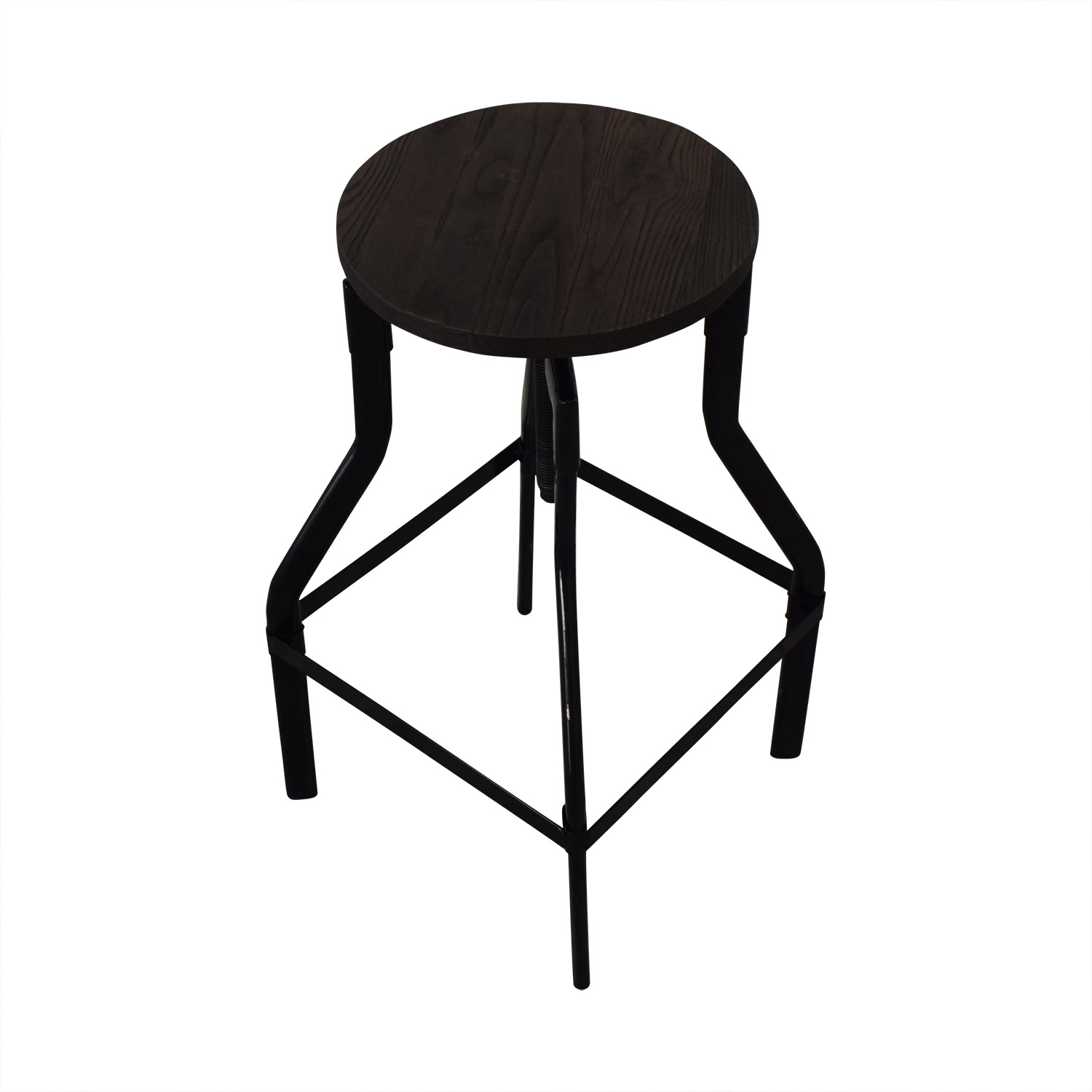 buy Industrial Wood Stools  Chairs