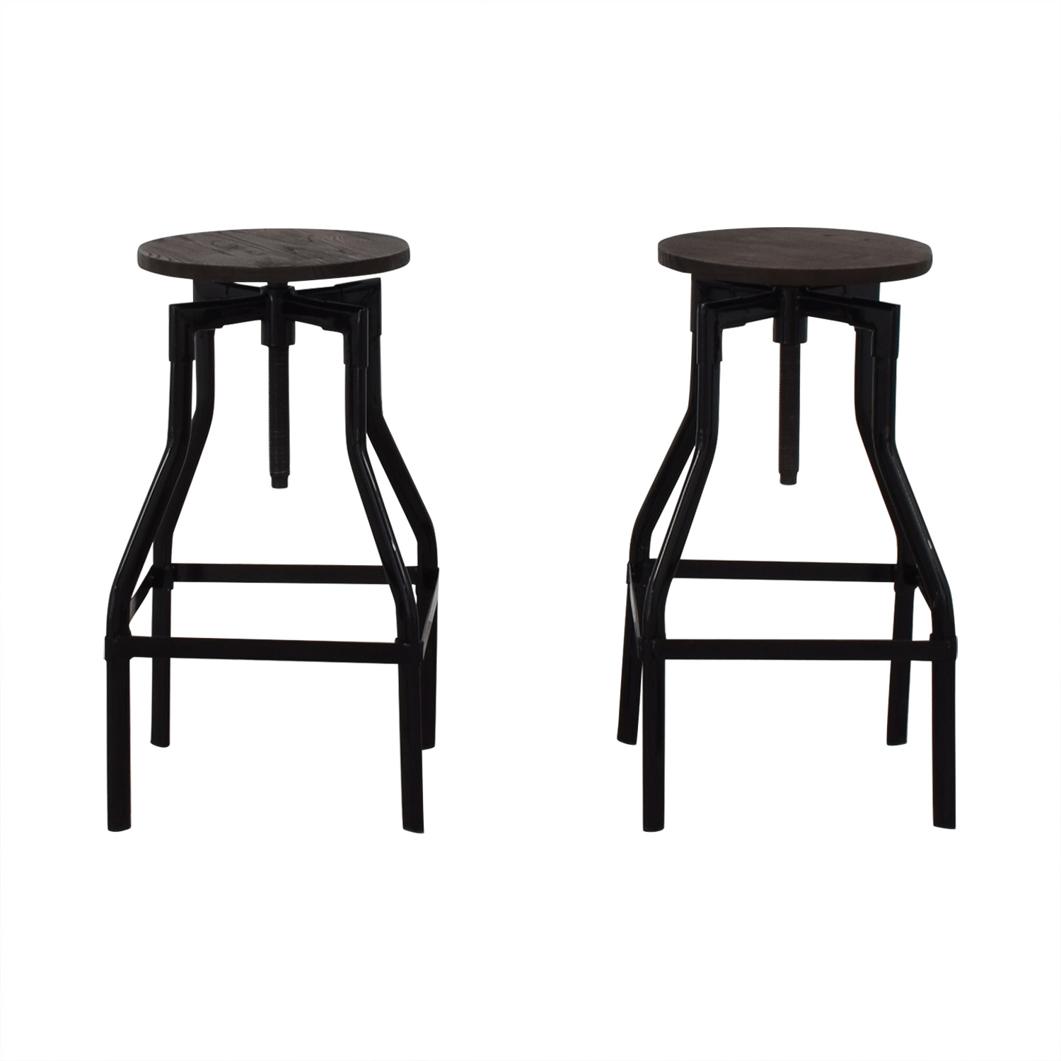 Industrial Wood Stools nj