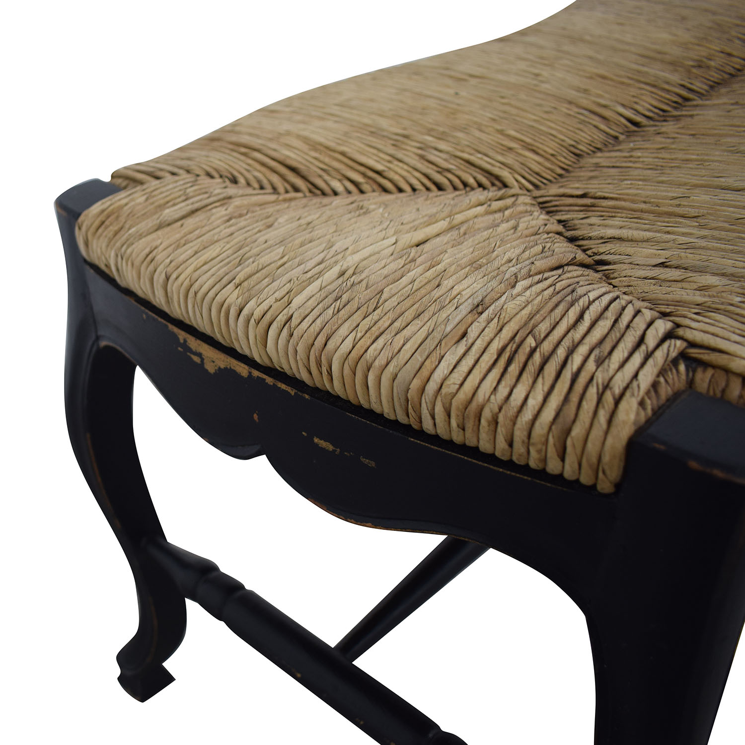 Pottery Barn Pottery Barn Wicker Top Bench Chairs