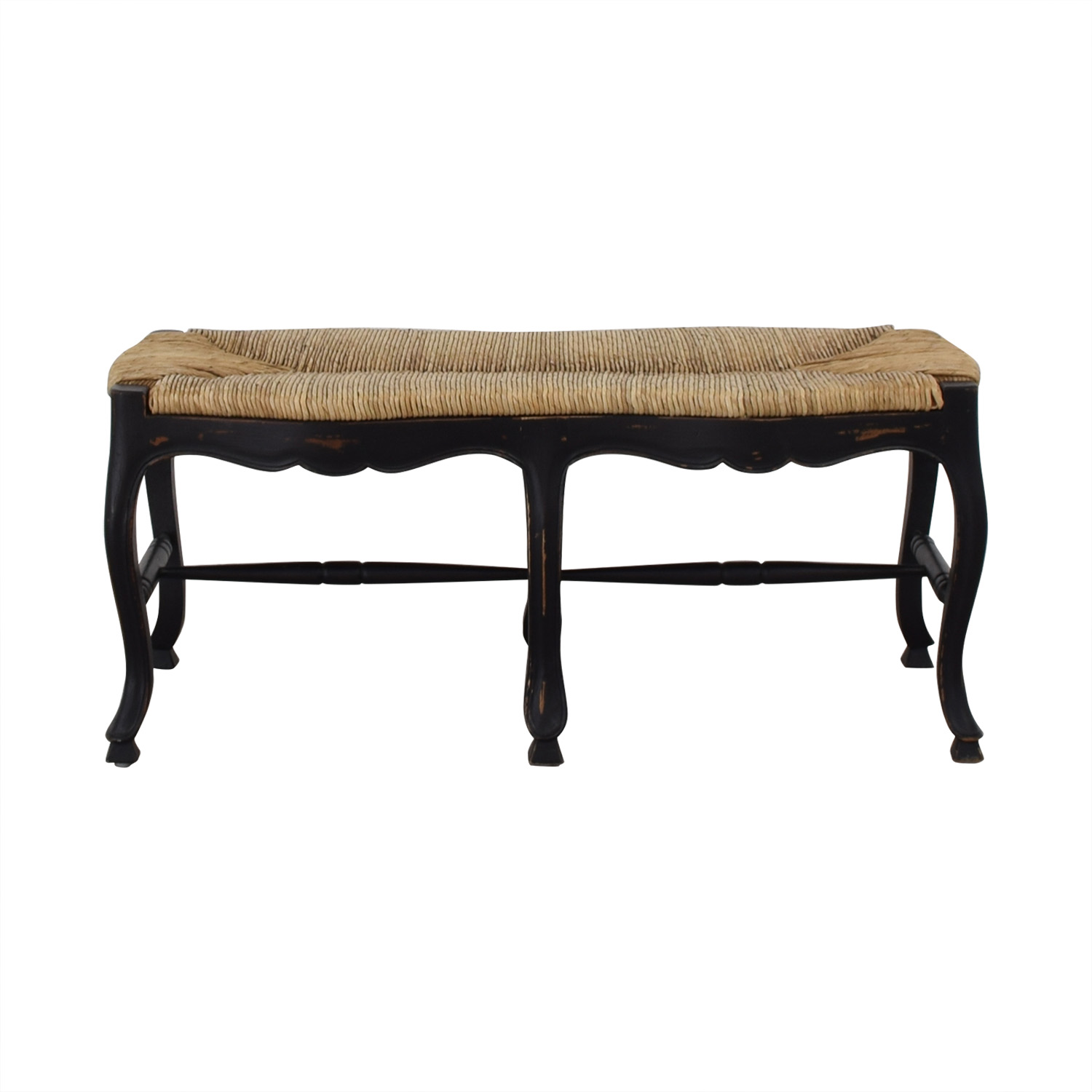 buy Pottery Barn Wicker Top Bench Pottery Barn Chairs