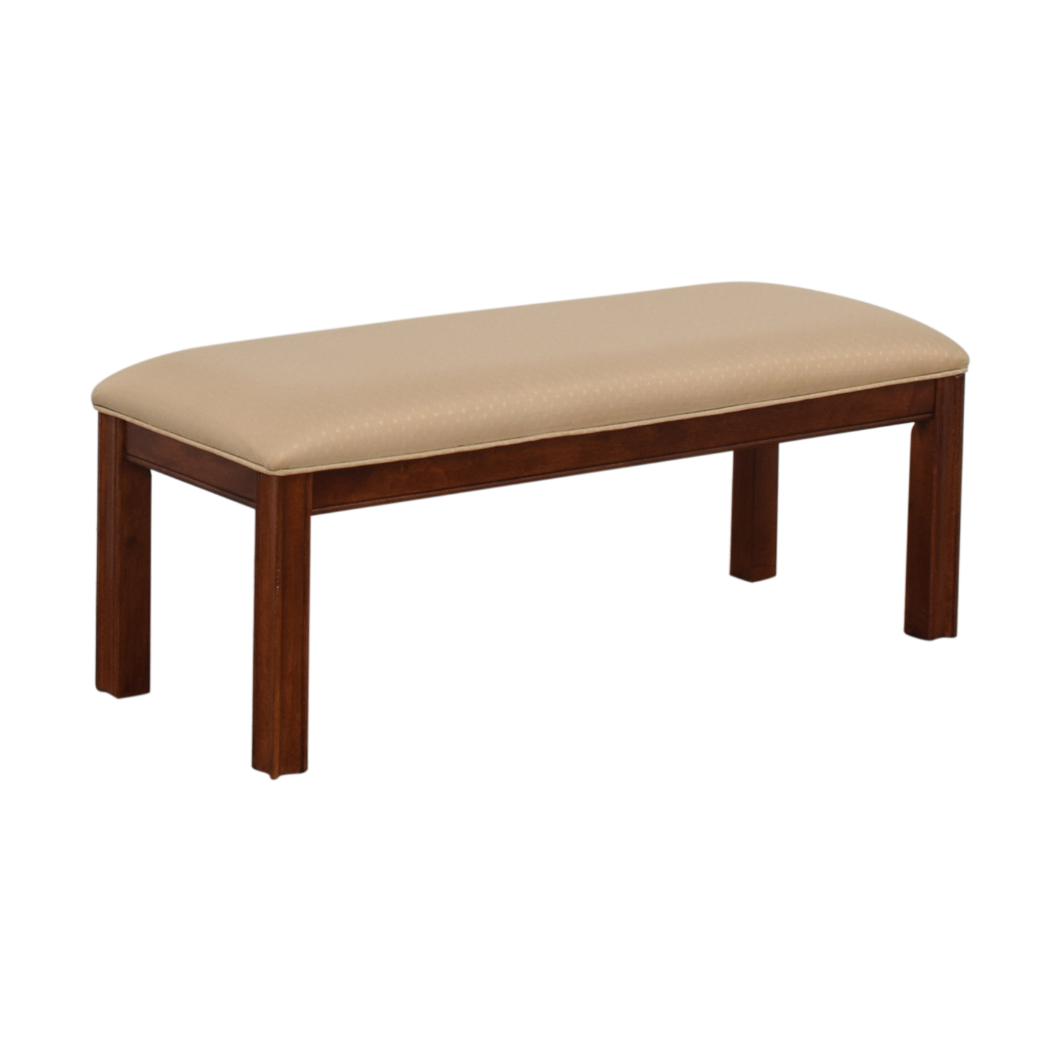 buy Beige Upholstered Bench  Chairs