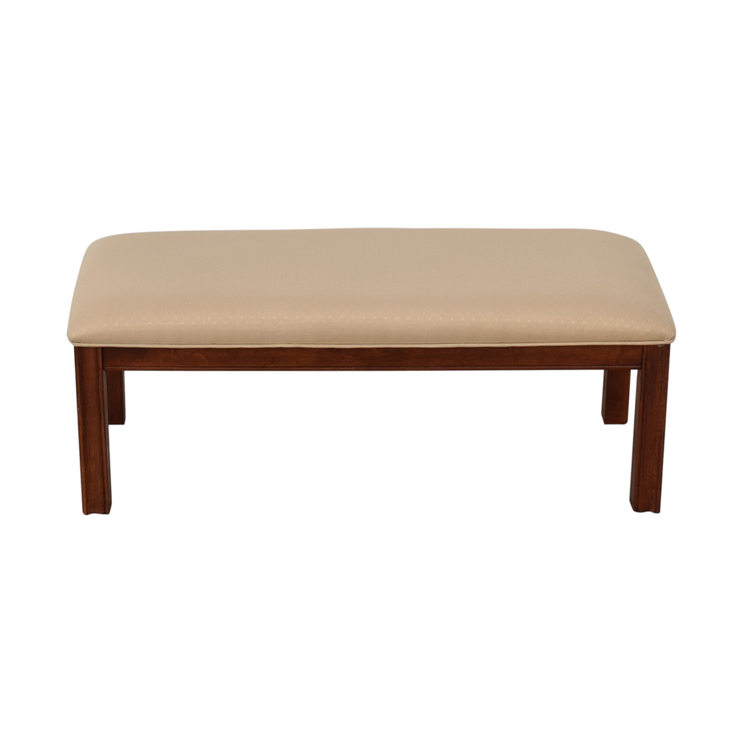 buy Beige Upholstered Bench  Benches