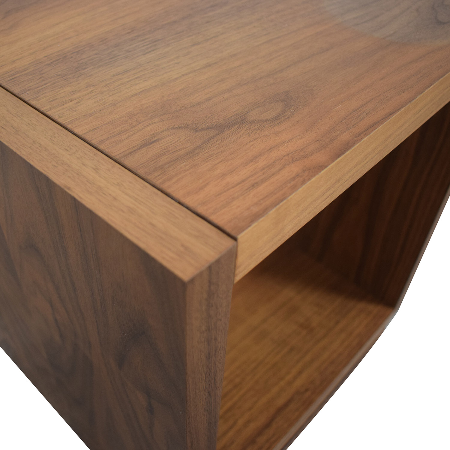 Walnut Swivel End Table price