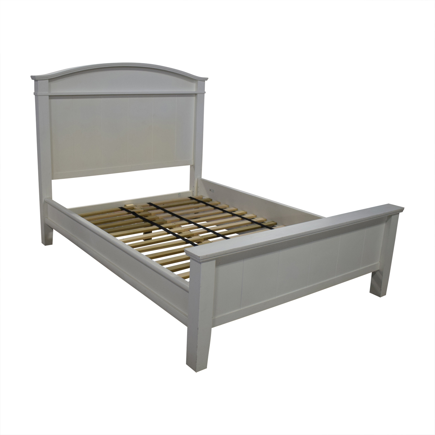 Pottery Barn Pottery Barn White Farmhouse Queen Platform Bed Frame Beds