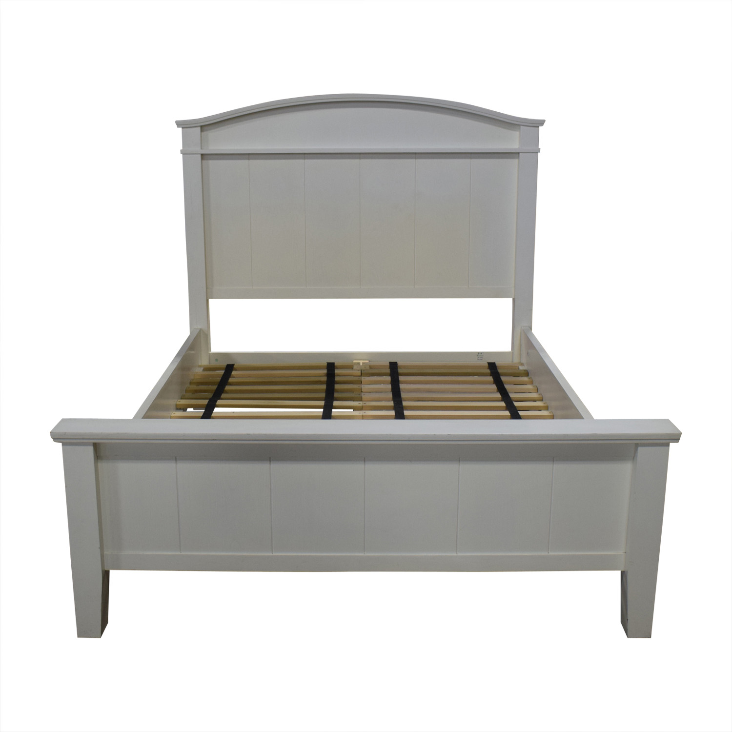 Pottery Barn Pottery Barn White Farmhouse Queen Platform Bed Frame Bed Frames