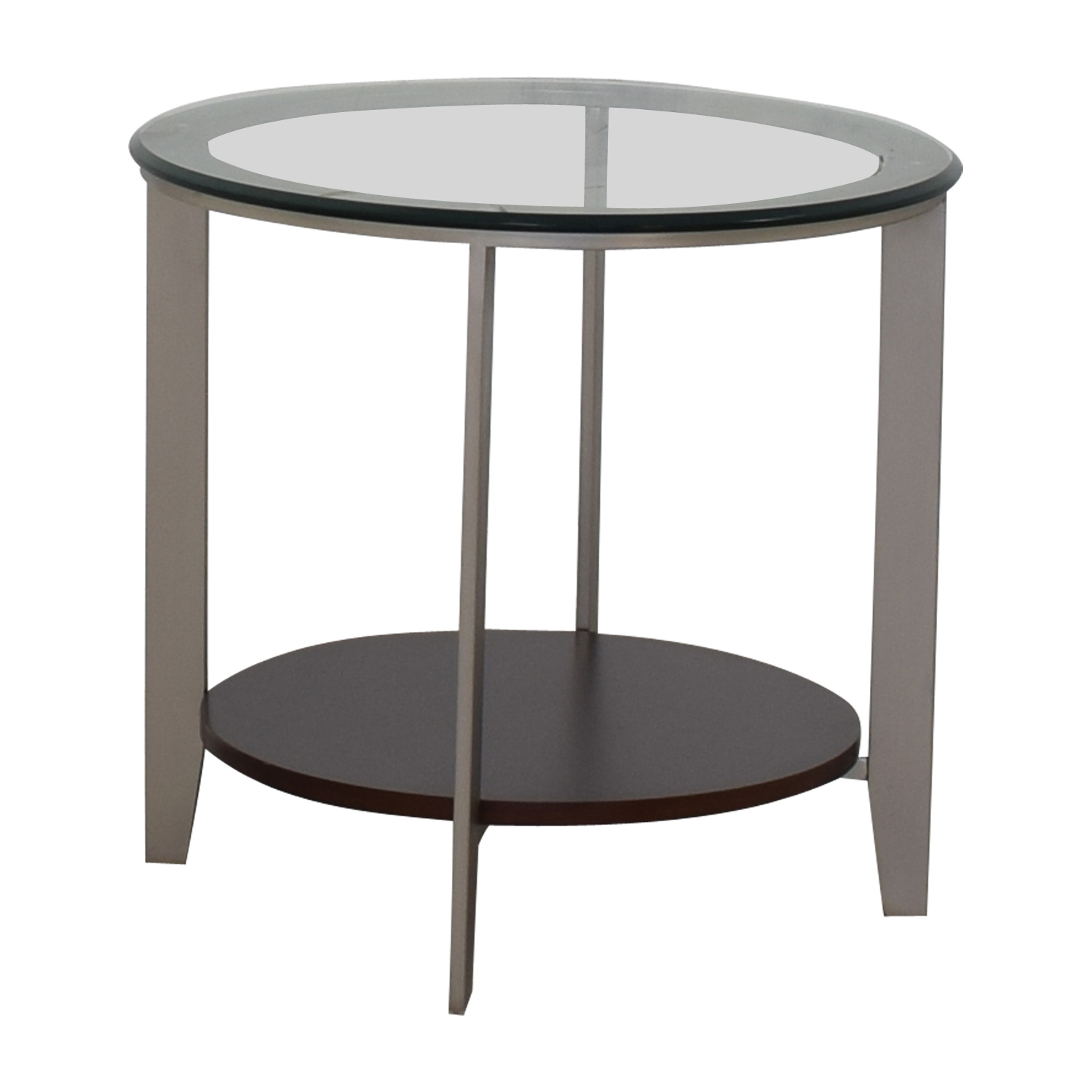 Ethan Allen Ethan Allen Elements Glass Top End Table coupon
