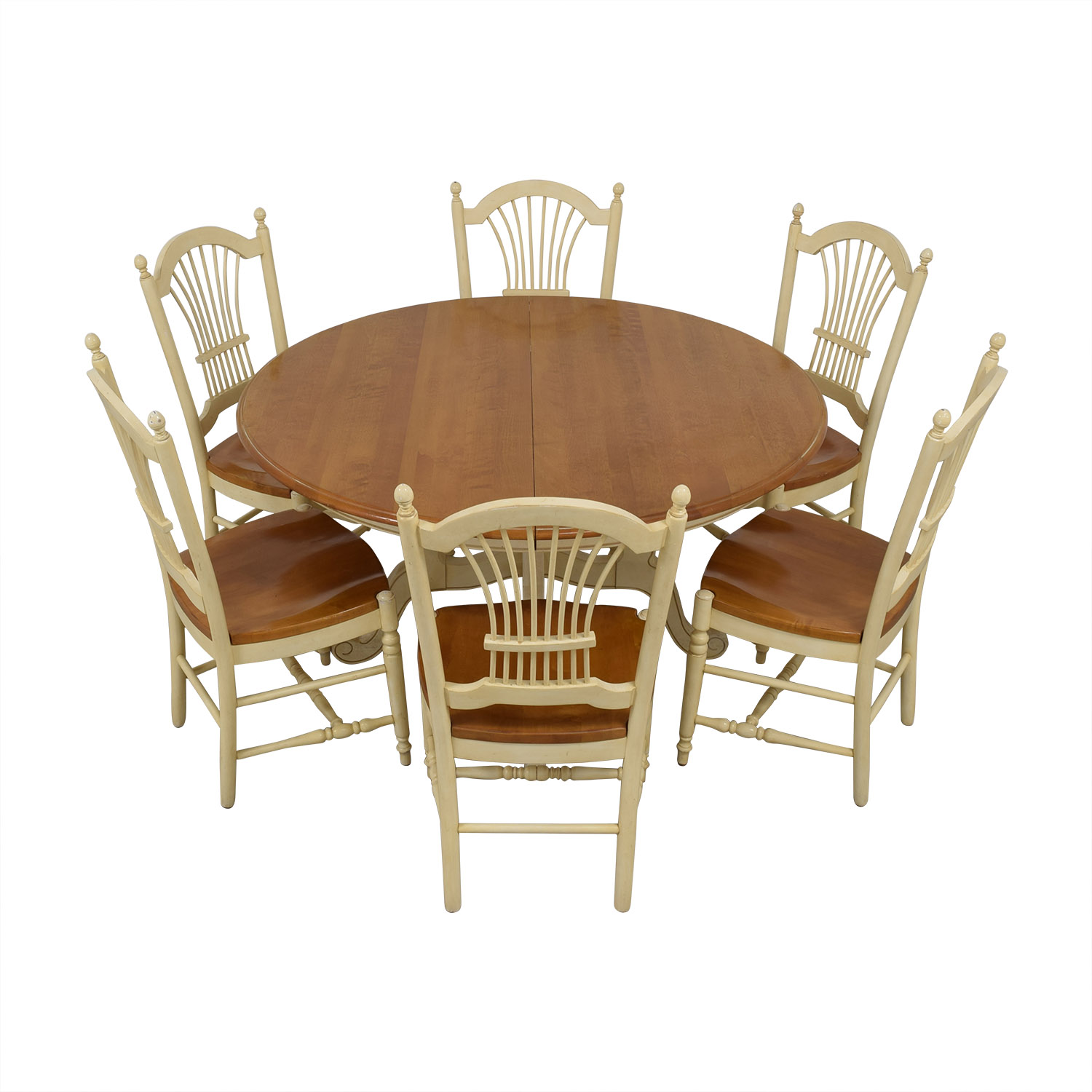 Ethan Allen Ethan Allen Country French Dining Set Dining Sets