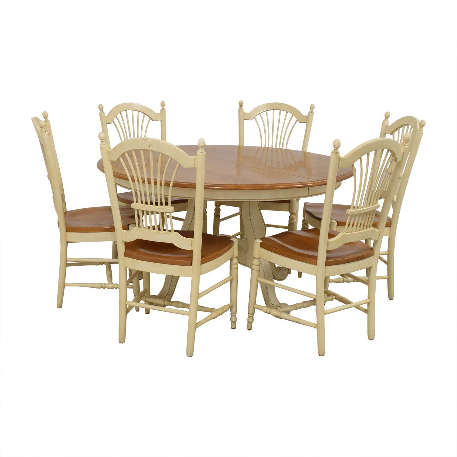 shop Ethan Allen Country French Dining Set Ethan Allen Dining Sets