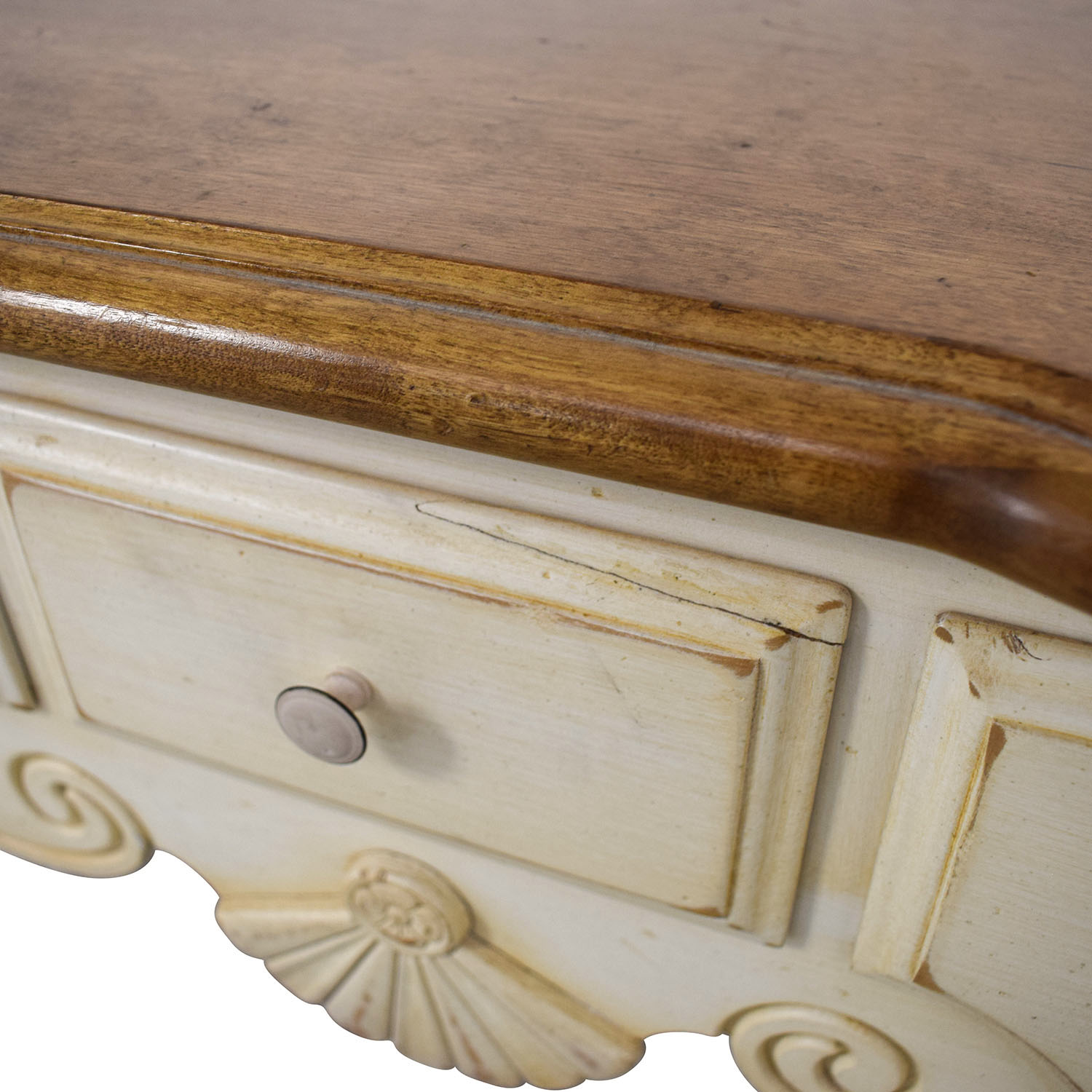 buy Ethan Allen Country French Sofa Table Ethan Allen Accent Tables