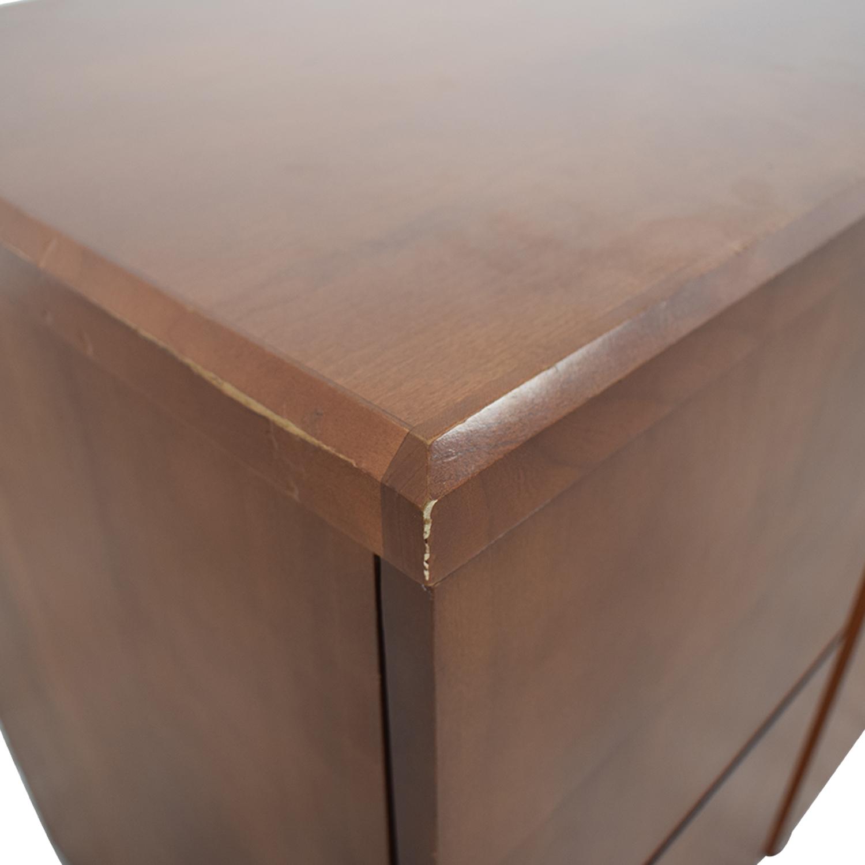 Gunlocke Company Gunlocke Company Five Drawer Wood Credenza price