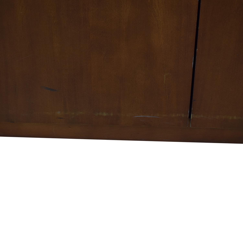 Gunlocke Company Gunlocke Company Five Drawer Wood Credenza for sale