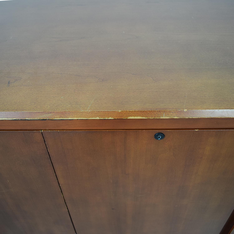 Gunlocke Company Gunlocke Company Five Drawer Wood Credenza dimensions