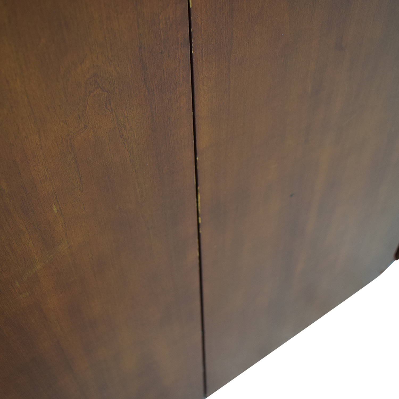 Gunlocke Company Gunlocke Company Five Drawer Wood Credenza nyc