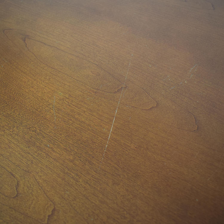 shop Gunlocke Company Five Drawer Wood Credenza Gunlocke Company Cabinets & Sideboards