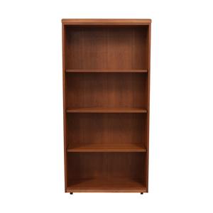 buy Gunlocke Wood Bookshelf Gunlocke
