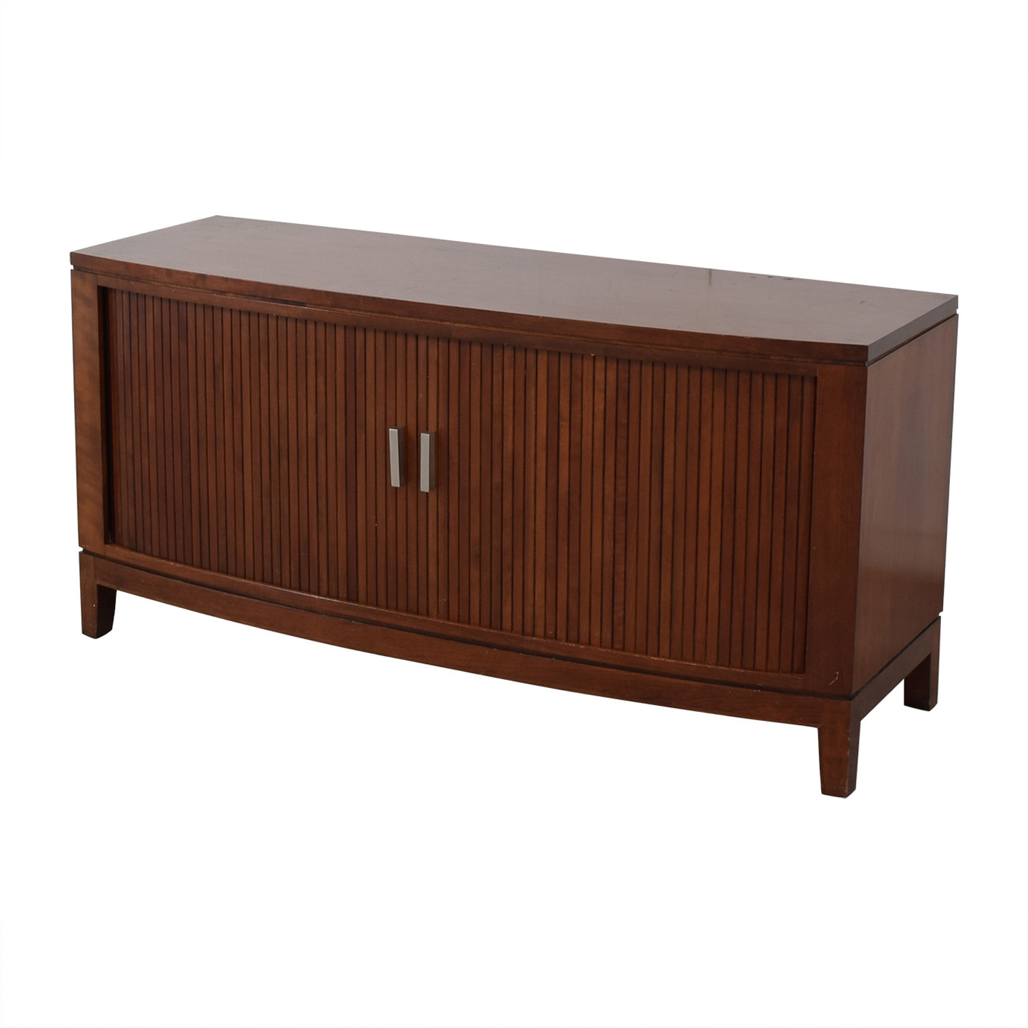 buy Media Console With Sliding Doors  Storage