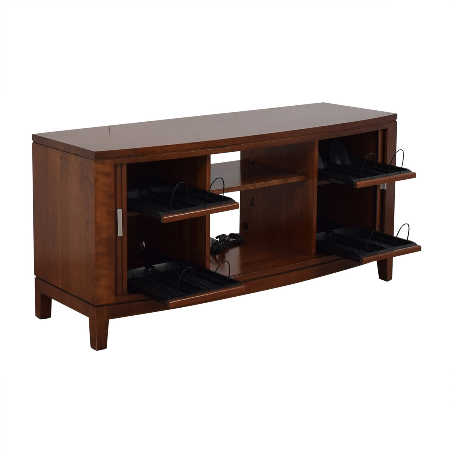 Media Console With Sliding Doors / Media Units