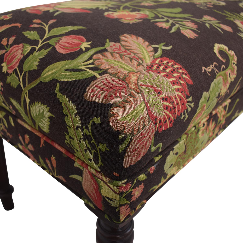 Ethan Allen Ethan Allen Floral Bench coupon