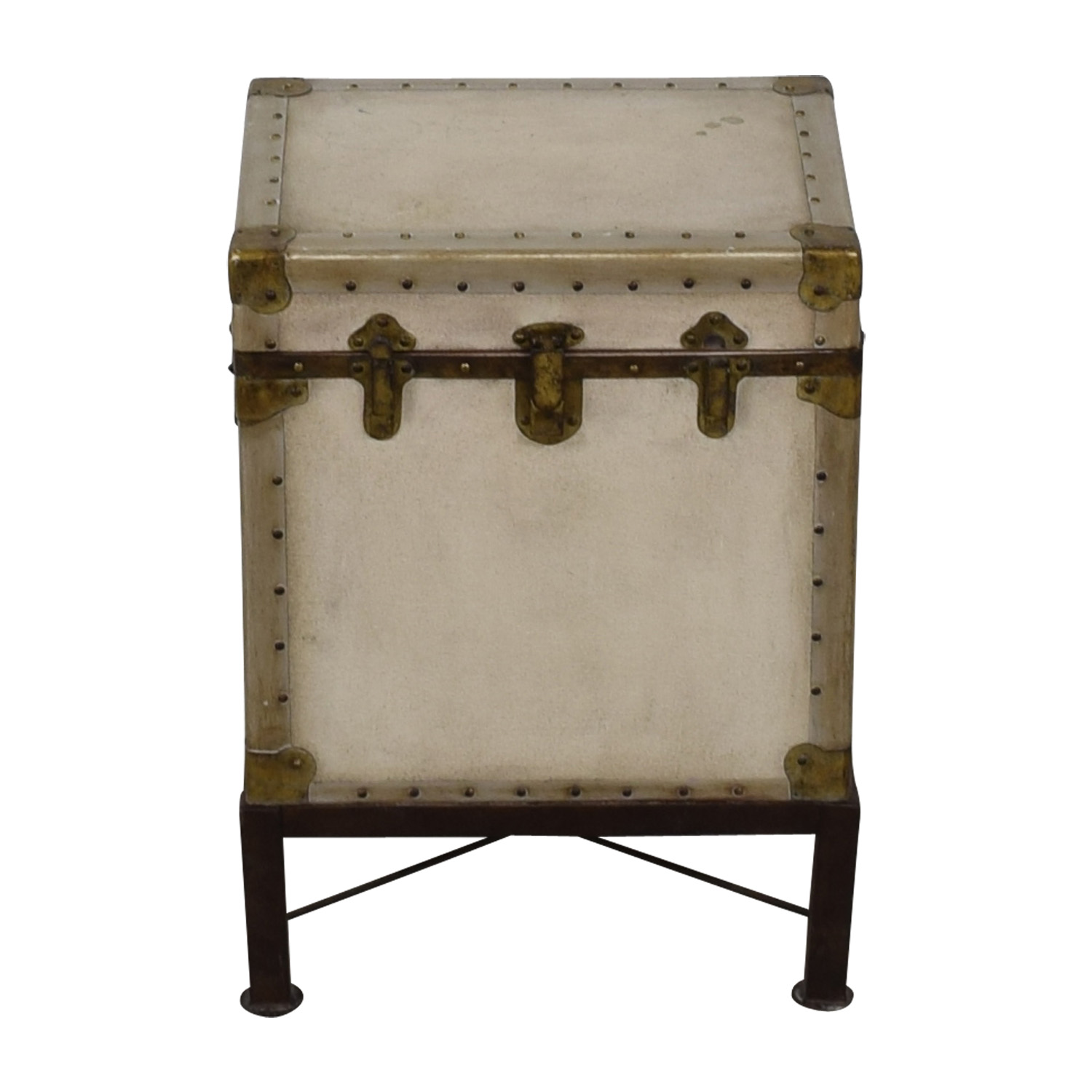 buy Pottery Barn Pottery Barn Storage Trunk End Table online