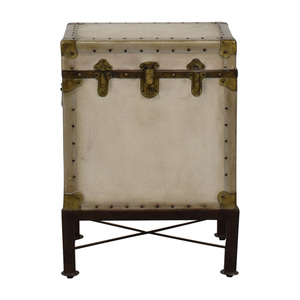 Pottery Barn Pottery Barn Storage Trunk End Table discount