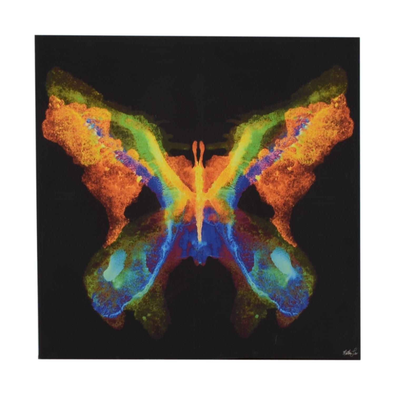 shop CB2 Butterfly Wall Art CB2