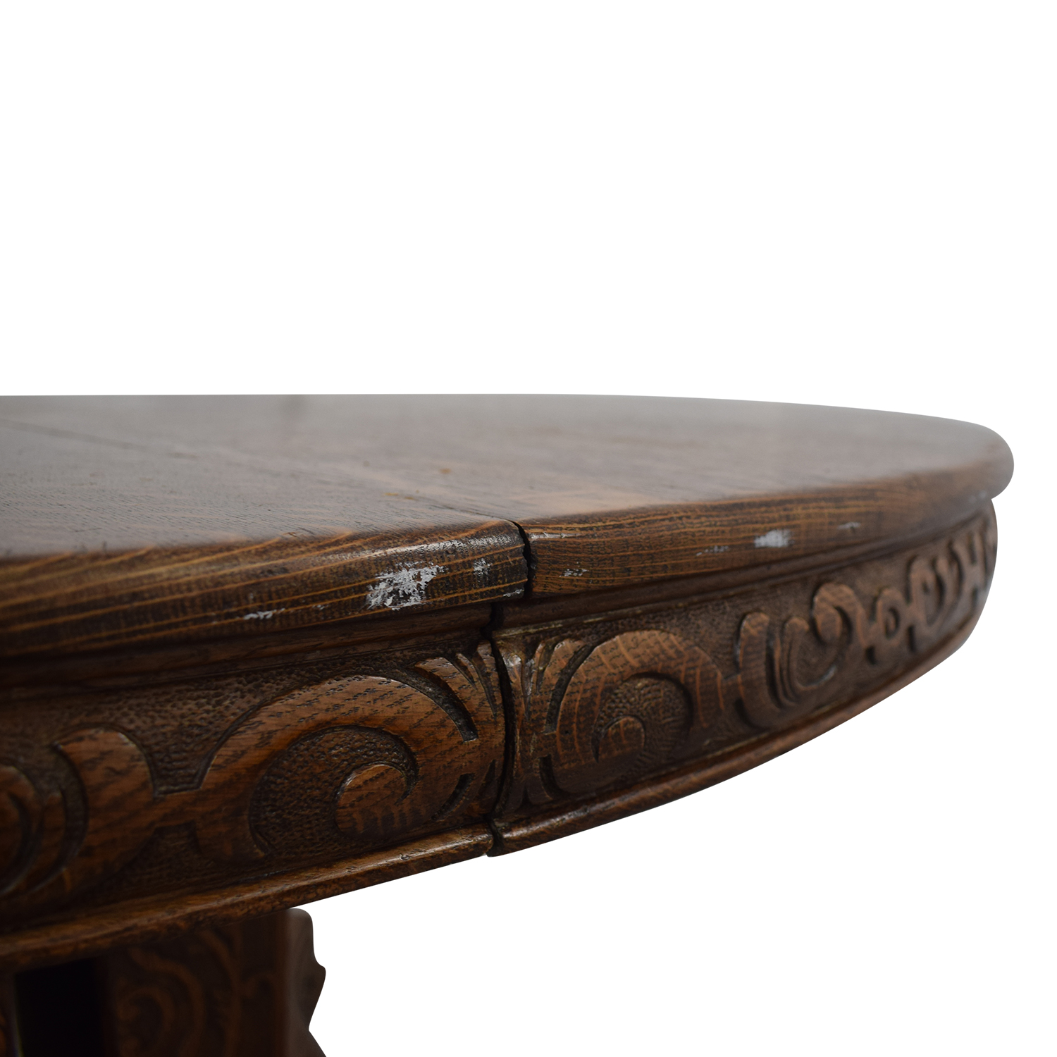 buy  Antique Wood Extendable Dining Table online