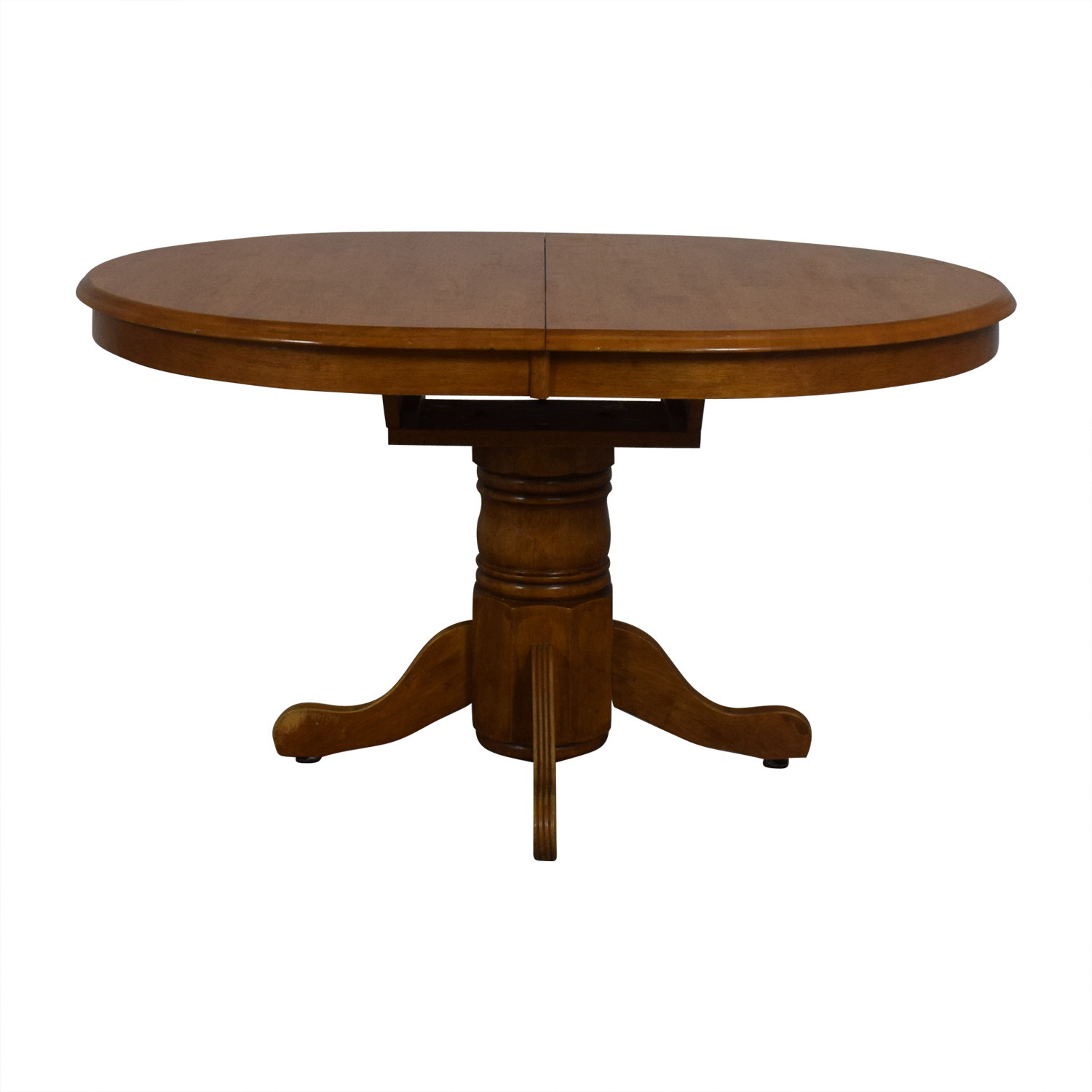 Wood Extendable Dining Table used