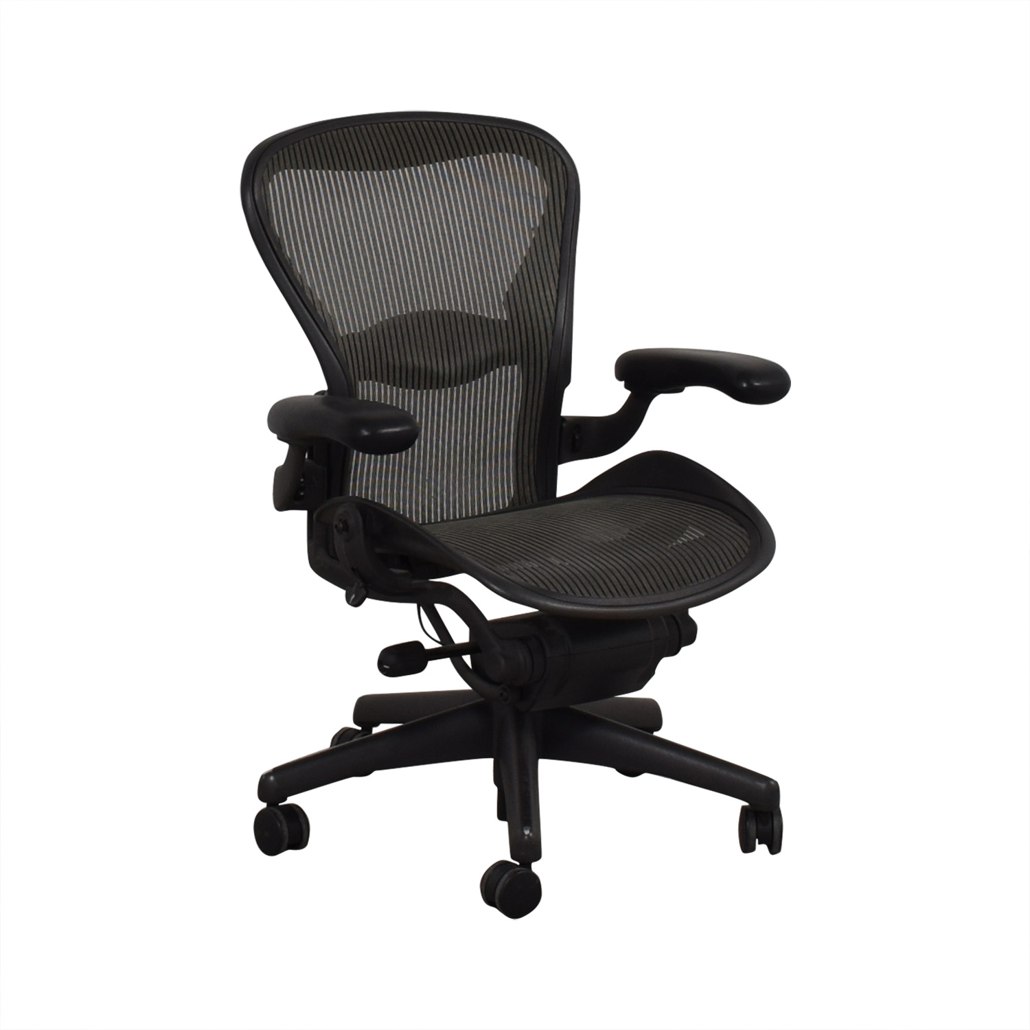 Groovy 75 Off Herman Miller Herman Miller Aeron Black Office Chair Chairs Caraccident5 Cool Chair Designs And Ideas Caraccident5Info